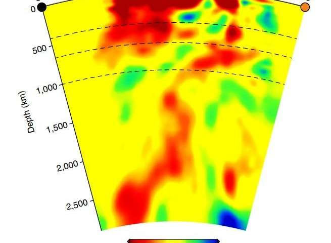 plume beneath Yellowstone, plume beneath Yellowstone National Park, scientists found new evidence of plume under yellowstone, New evidence for plume beneath Yellowstone National Park. The plume is part of a zone that runs to the park all the way from Mexico