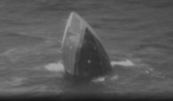 rogue wave hawaii, rogue wave hawaii march 2018, fishing vessel sinks rogue wave hawaii