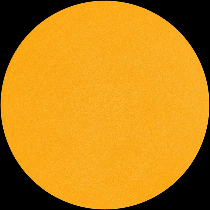 sun is blank, solar minimum, sun blank march 2018
