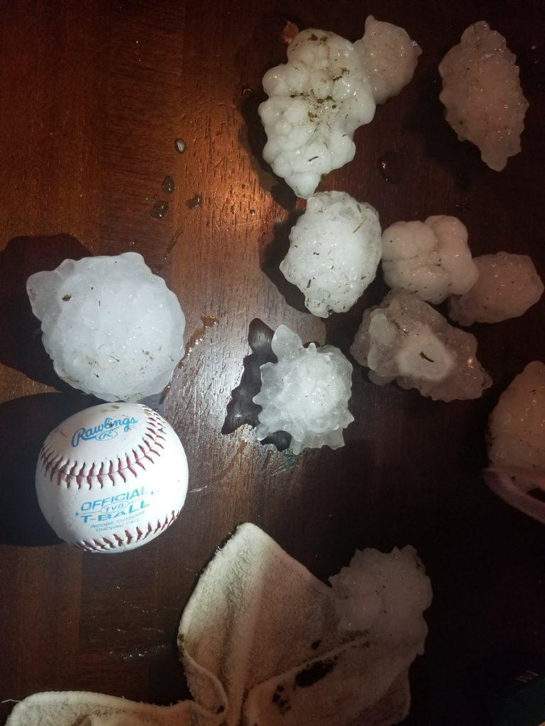 texas hail, texas hailstorm march 18 2018, supercell texas march 2018