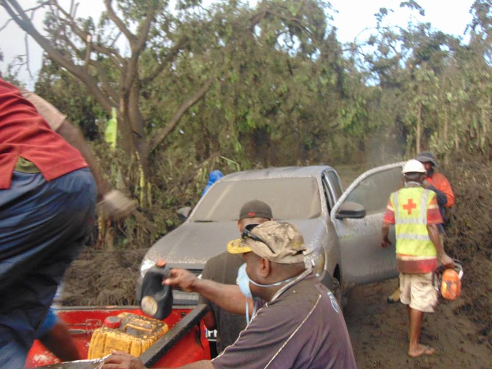 Island of no return: Vanuatu evacuates entire population of volcanic Ambae covered in ash