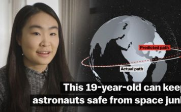 astronauts space junk, space, danger space junk astronauts, This 19-year-old can keep astronauts safe from space junk
