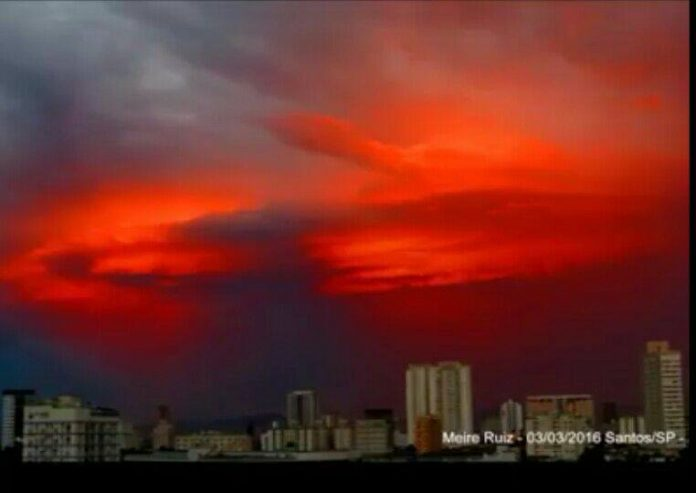 blood red sky brazil, blood red sky brazil pictures, blood red sky brazil video