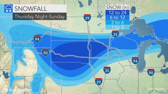major blizzard snowstorm north central US april 2018, usa snowstorm, blizzard usa april 2018, blizzard usa april 2018 weather map, anomalous weather usa april 2018, late snowstorm blizzard april 2018 usa