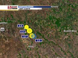 Very unusual: 4 earthquakes hit Nebraska within two days, nebraska 4 earthquakes in 2 days