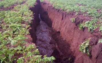 new earth crack kenya, new earth fissure kenya, kenya splitting in two new earths cracks