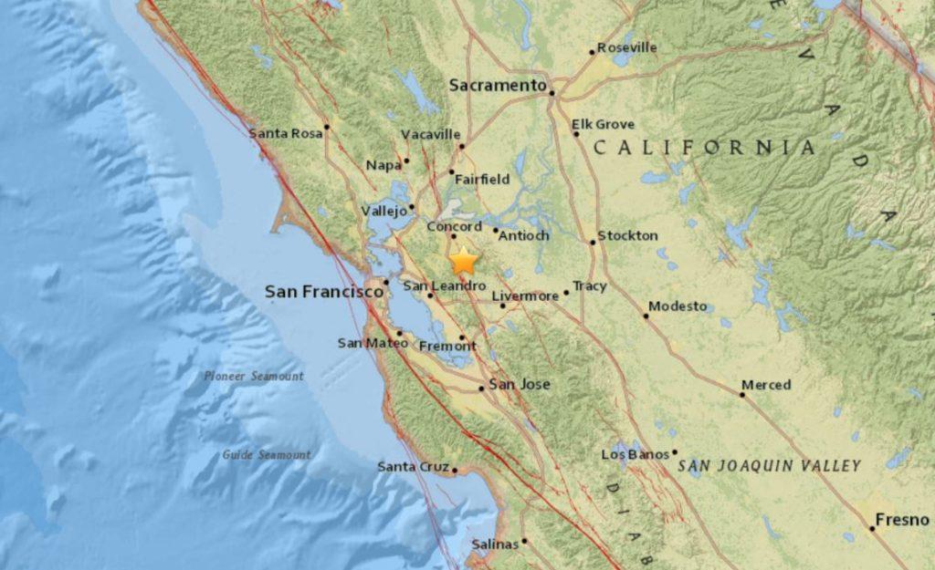mount diablo earthquake may 2018, mount diablo earthquake may 1 2018