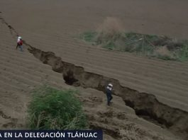 giant crack mexico tlahuac, giant crack Tlahuac and Milpa Alta, new giant crack mexico, Tláhuac and Milpa Alta crack and sinkhole may 2018