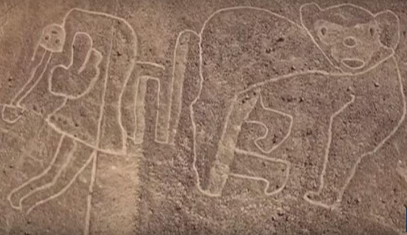 giant drawings near nazca lines peru, new drawings near nazca lines peru, discovery of new drawings near Nazca lines in peru