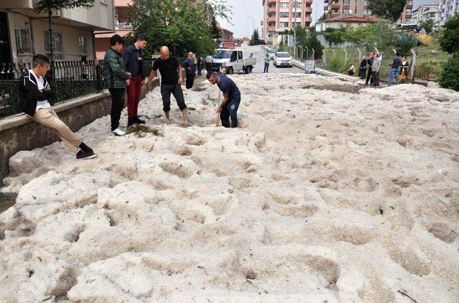 hailstorm ankara, hailstorm ankara may 2018