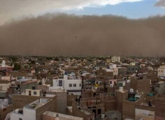india sandstorm, A sudden storm engulfed India killing at least 90 people on May 3 2018, india storm may 2018 video and pictures