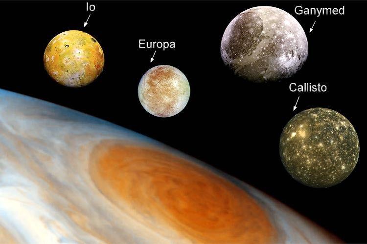 jupiter moons, jupiters moon, jupiter's moonss