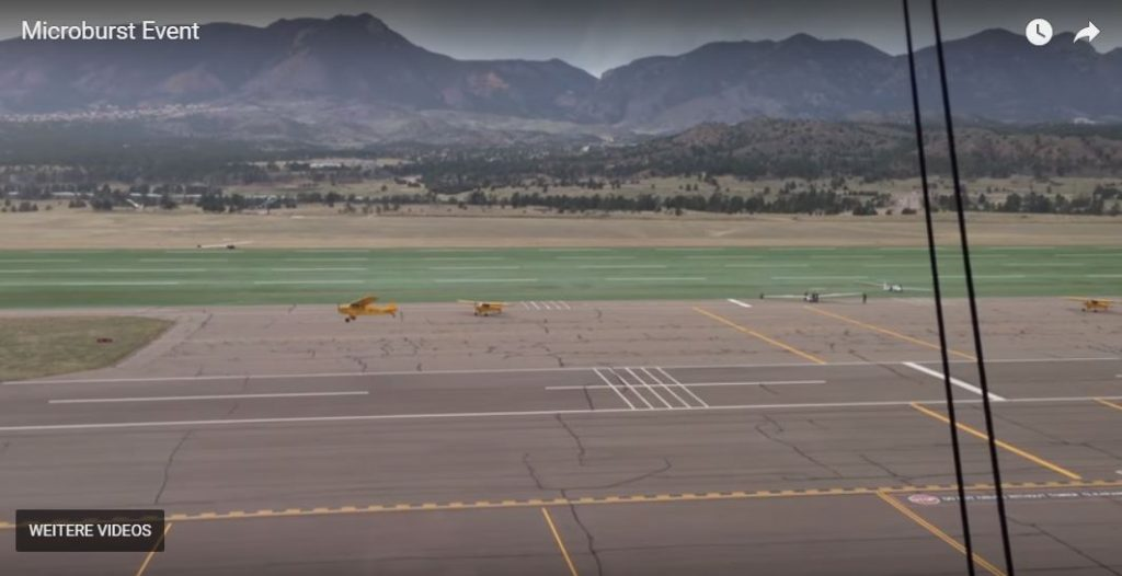 """Planes """"spontaneously"""" taking off during a microburst at an airport, Planes """"spontaneously"""" taking off during a microburst at an airport video, video Planes """"spontaneously"""" taking off during a microburst at an airport"""