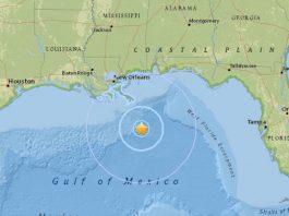 rare M4.6 earthquake gulf of mexico, rare M4.6 earthquake gulf of mexico louisiana, Seismic activity in the Gulf of Mexico, earthquake gulf of mexico