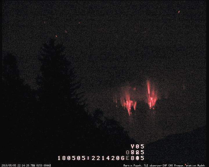 red sprites storm in action croatia, red sprites croatia may 2018, sprites storm may 2018 croatia