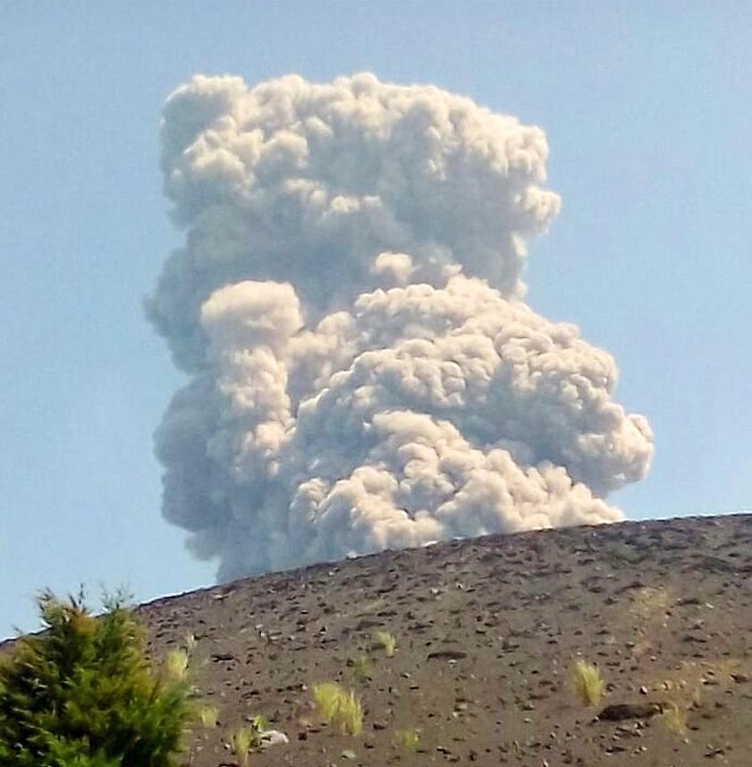 Anak Krakatao eruption on June 19 2018, Anak Krakatao eruption on June 19 2018 video, Anak Krakatao eruption on June 19 2018 pictures