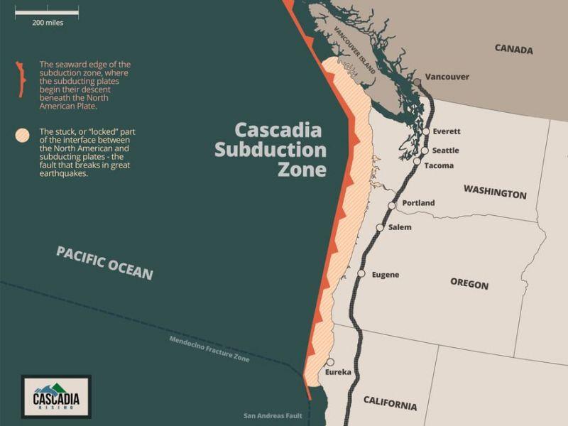 cascadia earthquake risks, cascadia fault zone, cascadia earthquake, cascadia earthquake overdue