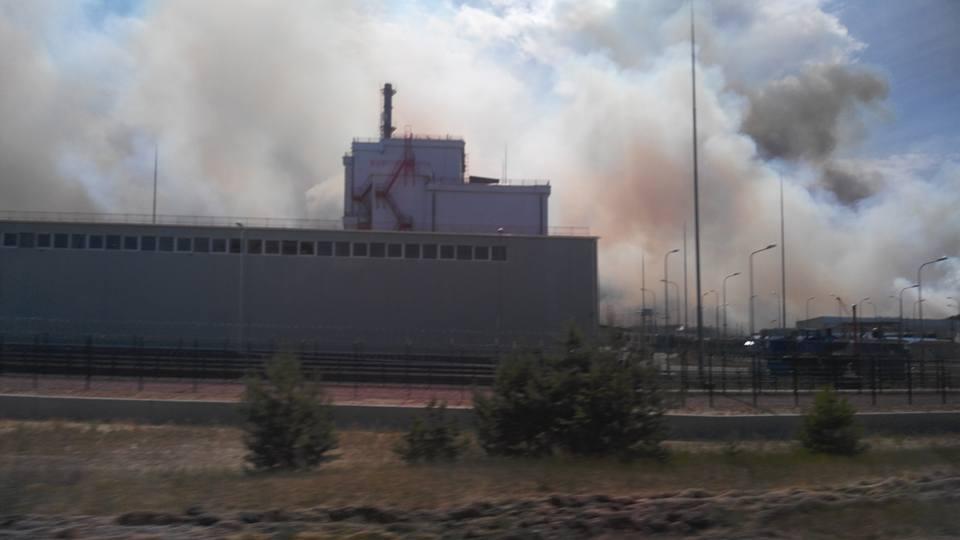 Photos of chernobyl fire