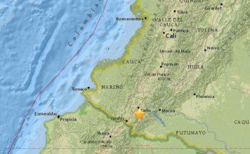galeras volcano, galeras volcano colombia, earthquake swarm galeras volcano colombia, galeras volcano waking up colombia june 2018