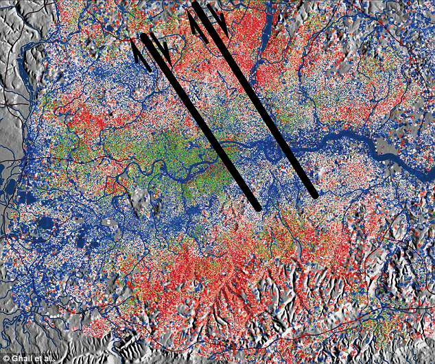 london fault lines, two new fault lines discovered under london, new fault lines london, new fault lines london