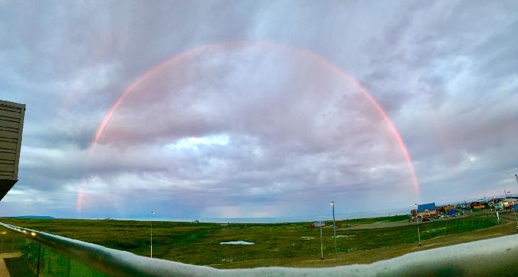midnight rainbow, red midnight rainbow, midnight rainbow alaska