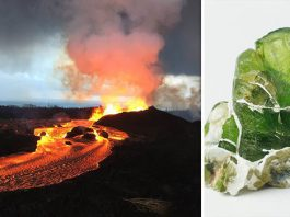 Kilauea volcano shooting green gems into the air, olivine gems kilauea eruption, olivine gems kilauea volcano eruption