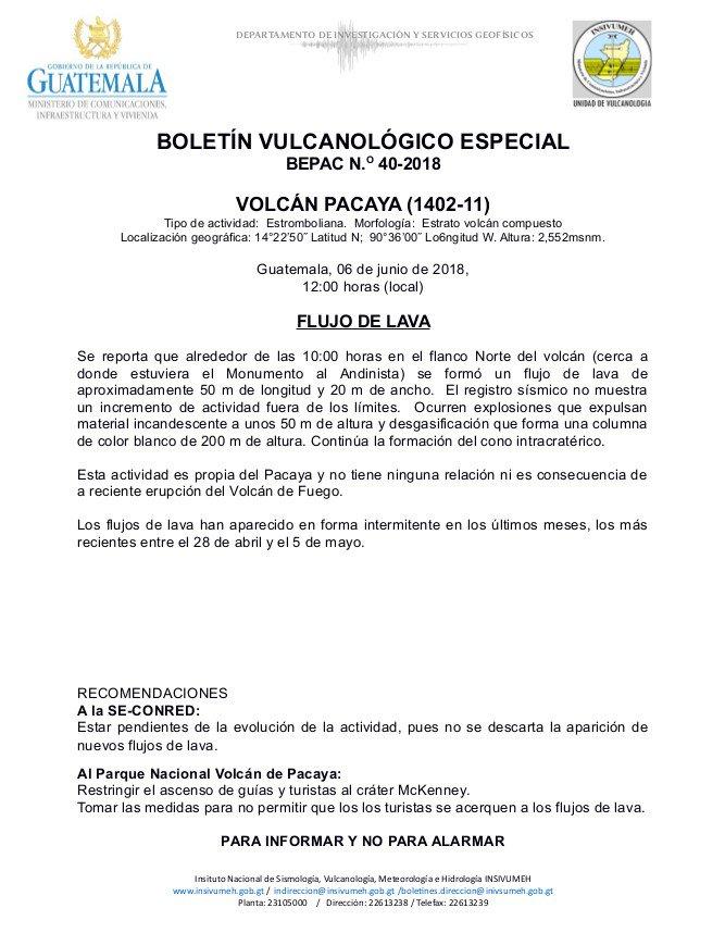 Pacaya, Pacaya volcanic eruption in Guatemala on June 6 2018, Pacaya volcanic eruption in Guatemala on June 6 2018 video, Pacaya volcanic eruption in Guatemala on June 6 2018 pictures