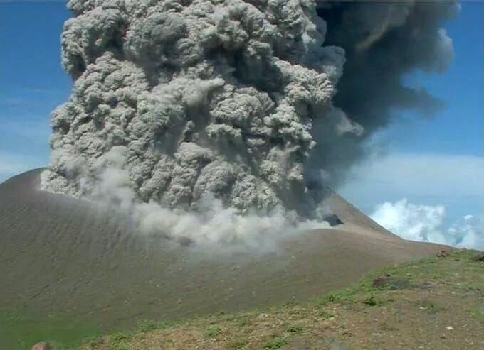 Telica eruption on June 21 2018, Telica eruption on June 21 2018 pictures, Telica eruption on June 21 2018 video