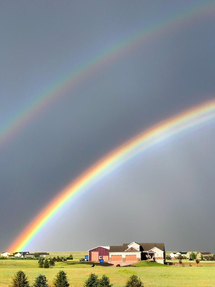 Strange and mysterious sky phenomena Twinned-rainbow-2