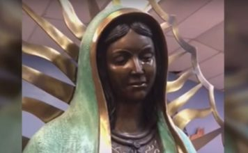 virgin Mary statue cries hobbs new mexico video, virgin Mary statue cries hobbs new mexico video may 2018, virgin Mary statue cries hobbs new mexico video june 2018, A Statue of Virgin Mary was spotted crying at the Our Lady of Guadalupe Catholic Church in the town of Hobbs, New Mexico
