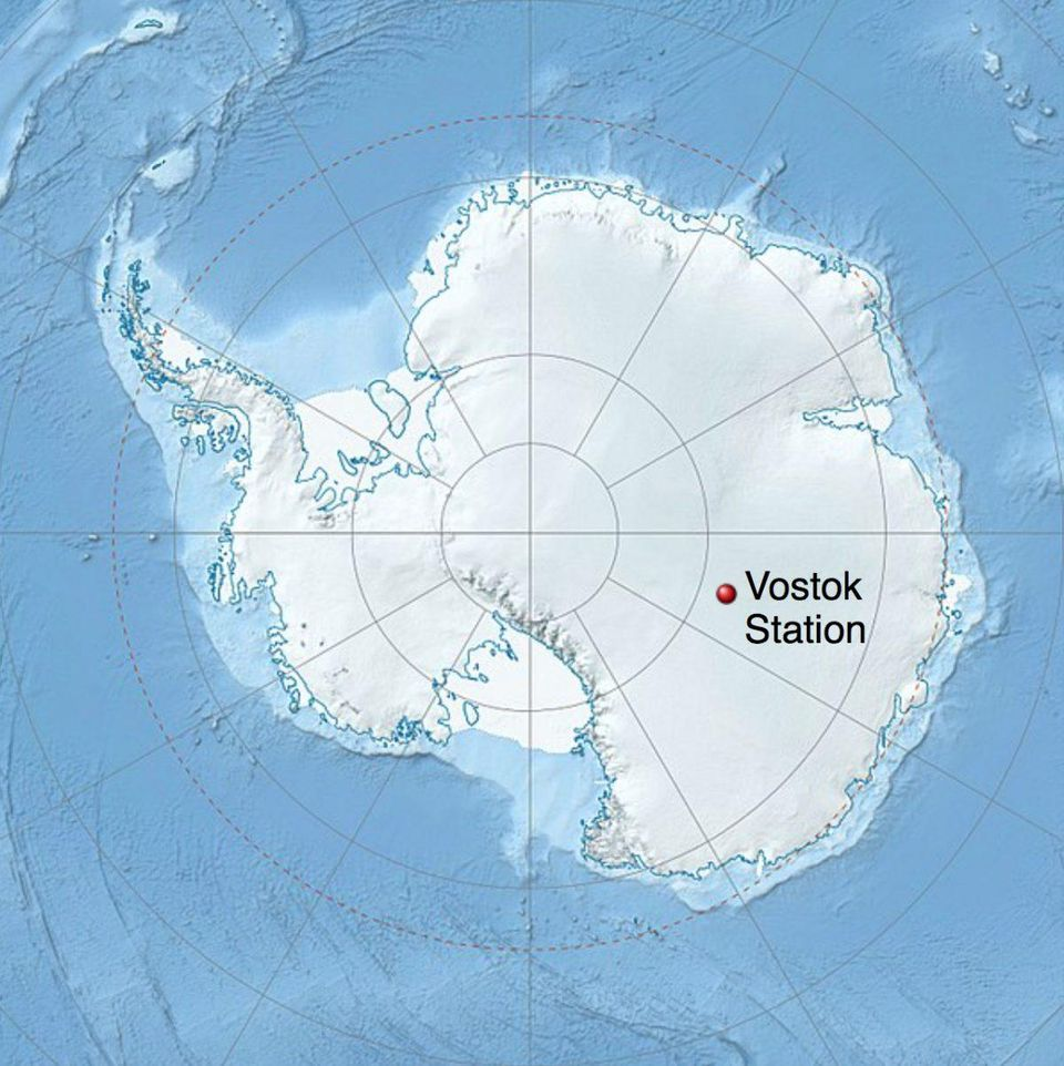 coldest temperature on earth, antarctica mystery, coldest temperature on earth antarctica vostok