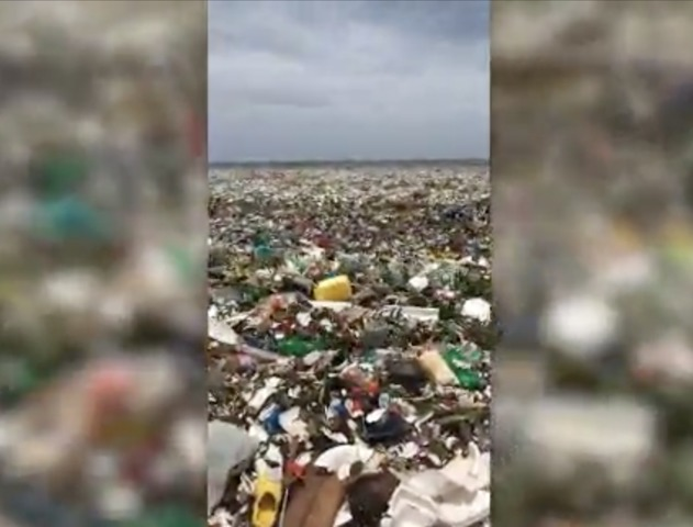 Beach Dominican Republic garbage plastic, Beach Dominican Republic garbage plastic video, Beach Dominican Republic garbage plastic instagram, Beach Dominican Republic garbage plastic video