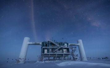 Mysterious particle Antarctica distant galaxy black hole, antarctica news, astronomy news, antarctica neutrino