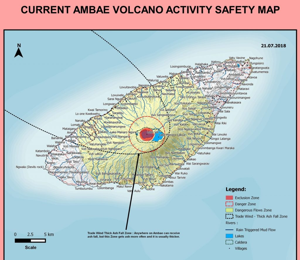 volcanic updates, volcanic news, volcano news, volcano july 2018, ambae volcanic unrest july 2018