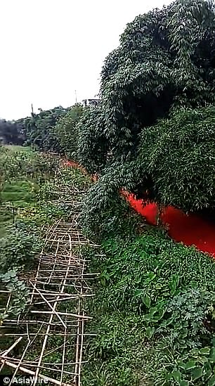 blood red river china, blood red river china photo, blood red river china video