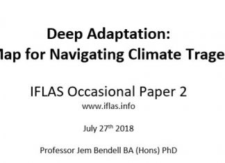 Deep Adaptation: A Map for Navigating Climate Tragedy, Deep Adaptation: A Map for Navigating Climate Tragedy paper, what they don't want you to know, societal collapse paper, The study on collapse they thought you should not read – yet