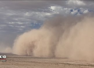 Dust storm engulfs parts of the East Valley near Phoenix on July 5 2018, Dust storm engulfs parts of the East Valley near Phoenix on July 5 2018 pictures, Dust storm engulfs parts of the East Valley near Phoenix on July 5 2018 video