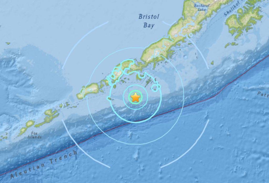 M6.0 earthquake hits Alaska on July 19 2018, M6.0 earthquake hits Alaska on July 19 2018 map