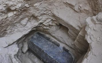 giant sarcophagus egypt, giant coffin egypt, giant sarcophagus alexandria egypt, giants in egypt, ancient giant egypt