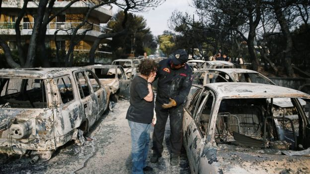 greece wildfires, mati greece wildfires, mati destroyed fires greece, greece fire apocalypse july 2018, greece wildfires mati pictures, greece wildfires mati video, greece wildfires mati july 2018