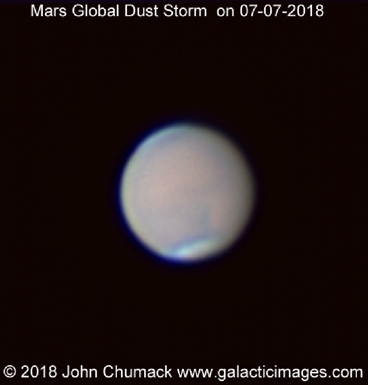 mars dust storm, mars global dust storm july 2018