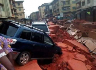 nigeria road collapse monsoon, road collapse nigeria, nigeria road collapse july 2018 video, nigeria road collapse july 2018 pictures