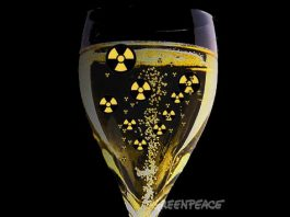 radioactive wine california, radioactive champagne california, radioactivity wine california