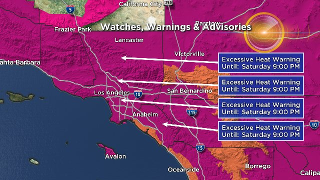 southern california heatwave, southern california heatwave july 2018, Record-breaking heatwave bakes Southern California