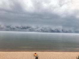 terrifying shelf cloud michigan, terrifying shelf cloud michigan pictures, terrifying shelf cloud michigan video, terrifying shelf cloud michigan july 2018