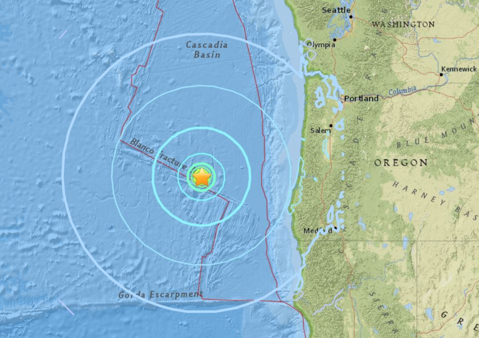 M6.2 earthquake cascadia oregon coast usa august 22 2018, M6.2 earthquake cascadia oregon coast usa august 22 2018 california, M6.2 earthquake cascadia oregon coast usa august 22 2018 map, M6.2 earthquake cascadia oregon coast usa august 22 2018 video, cascadia fault zone earthquake august 22 2018