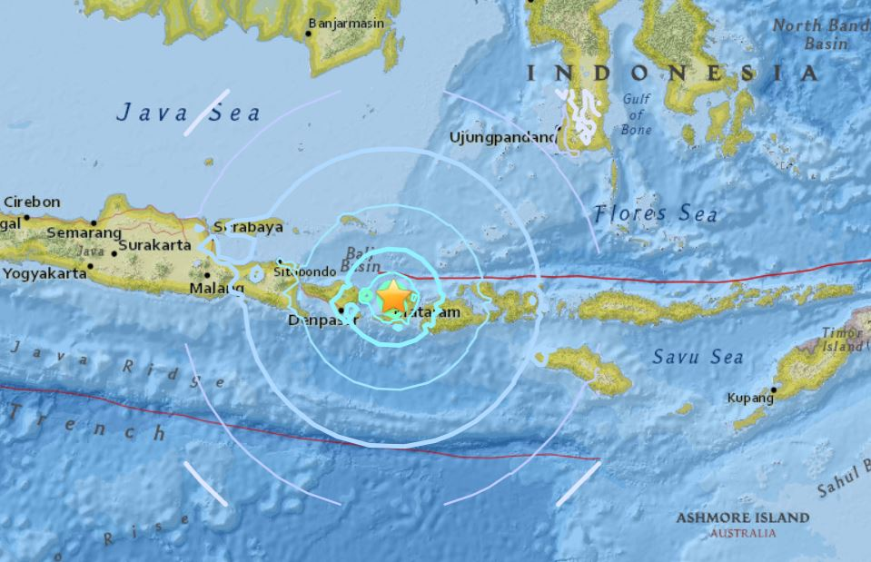 lombok earthquake, new lombok earthquake, new strong earthquake lombok , new lombok earthquake August 2018