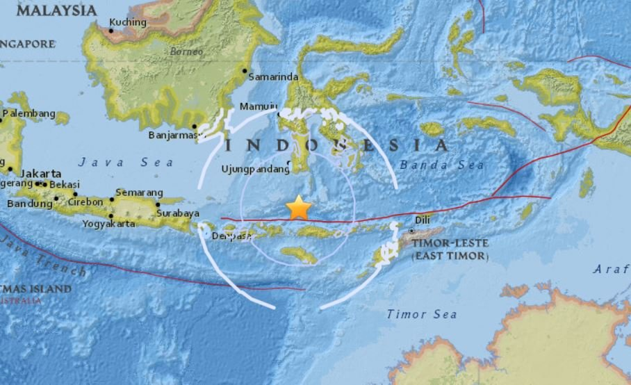 M6.5 earthquake indonesia, M6.5 earthquake indonesia map, M6.5 earthquake indonesia video