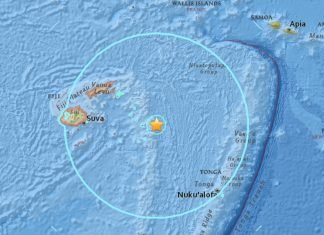 M8.2 earthquake fiji august 19 2018, M8.2 earthquake fiji august 19 2018 map