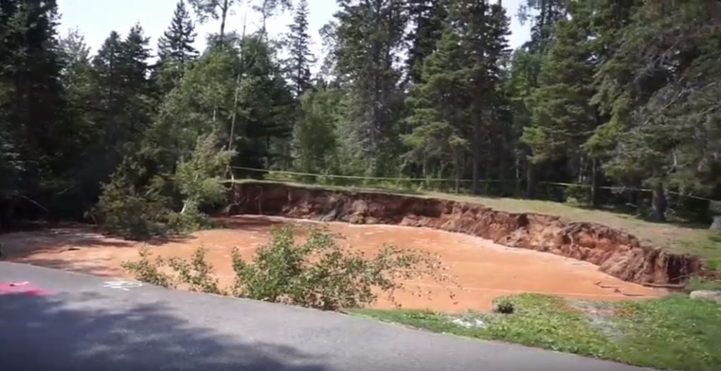 giant growing sinkhole oxford nova scotia, giant sinkhole oxford nova scotia, giant sinkhole oxford nova scotia video, giant sinkhole oxford nova scotia pictures, giant sinkhole oxford nova scotia august 2018